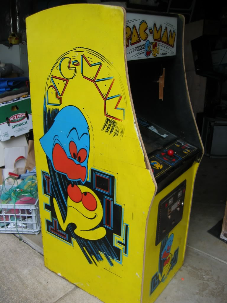 Pac man slot machine